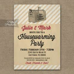 housewarming invitations printable vintage house warming