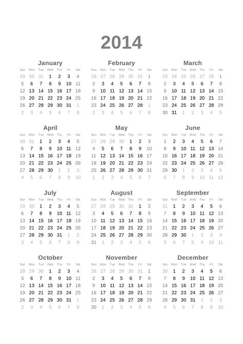 Kalender 2014 Zum Ausdrucken Kalender Zum Ausdrucken Images