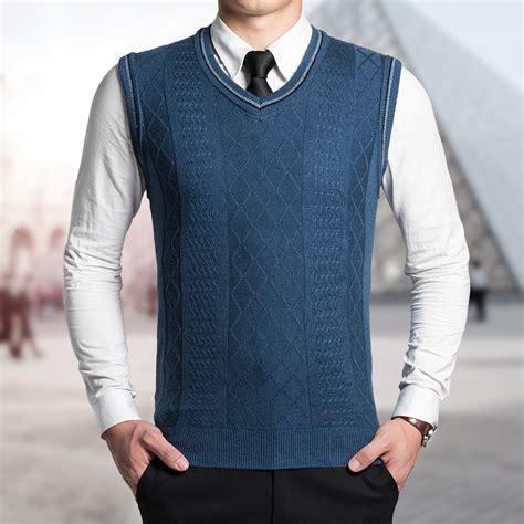 knitting pattern men s sweater vest popular men sweater vest knitting pattern buy cheap men