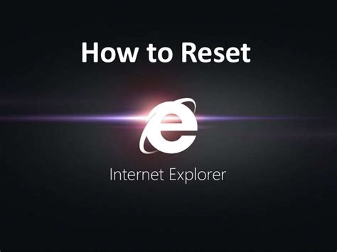 how to use quick heal resetter how to reset internet explorer