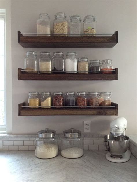 How To Organize A Small Kitchen Without A Pantry by Best 25 Spice Racks Ideas On Pinterest Kitchen Rack