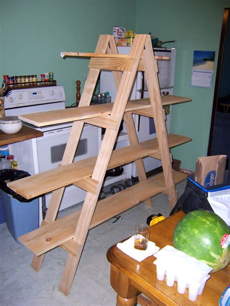 build your own apartment make your own ladder shelf for craft show display mama