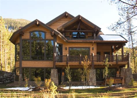 Home Planners Inc House Plans settlers creek chalet rustic exterior other metro