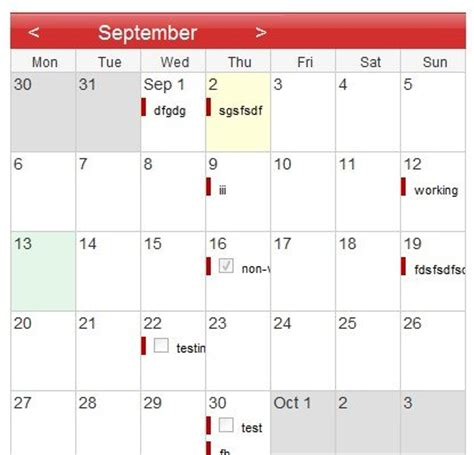 Calendar Js Calendars Javascript And Web Resources Page 2