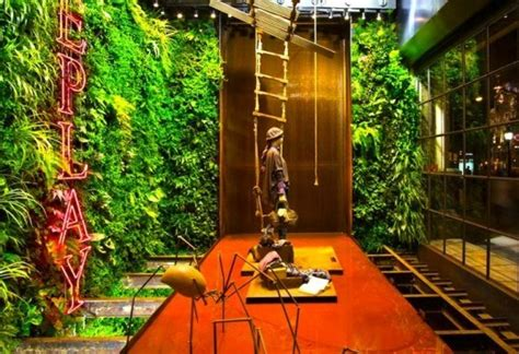 Vertical Garden Interior 6 Living Vertical Gardens Bring A Breath Of Fresh