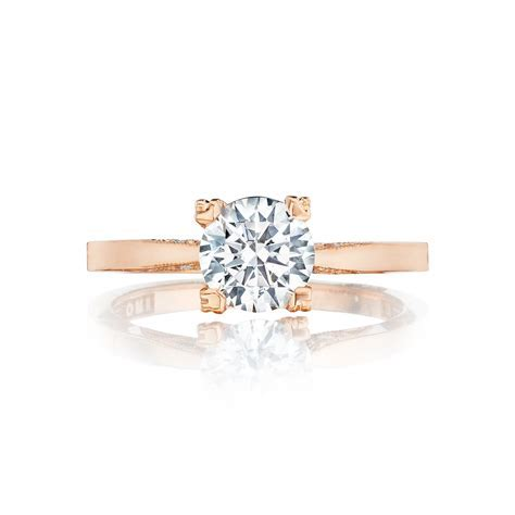 Tacori Rose Gold engagement ring   DK Gems
