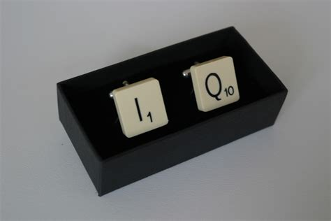 scrabble accessories scrabble cufflinks