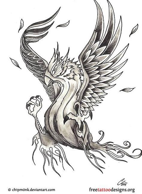 tribal phoenix tattoo meaning design tattoos