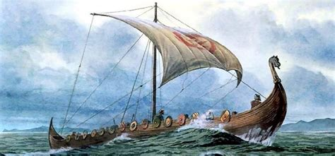 viking warrior boats arab embassy to dark age scandinavia beachcombing s