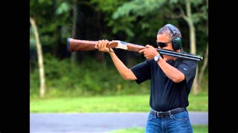 Obama Shooting Meme - image obama skeet shooting download