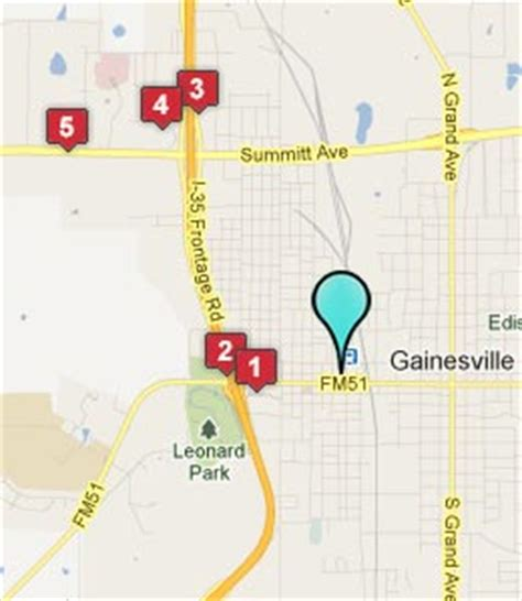 gainesville texas map gainesville texas hotels motels see all discounts