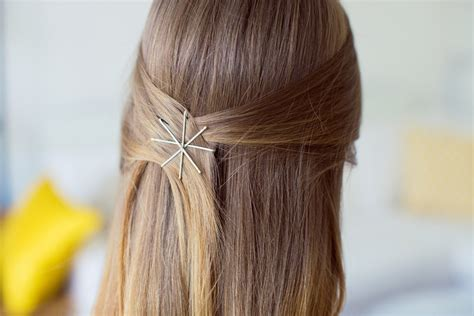 down hairstyles with bobby pins not your average bobby pin luxy hair
