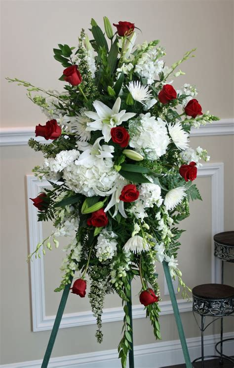 Funeral Flowers by White Funeral Flowers Arrangements Www Imgkid The