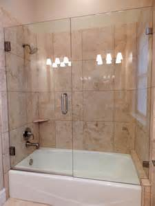 frameless shower tub doors frameless shower doors cascade glass