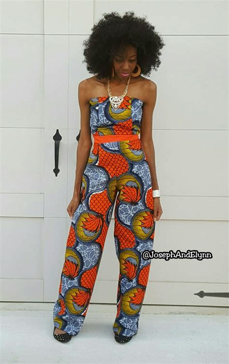 ankara jumpsuits for women ankara african print pants jumpsuit www josephandelynn com