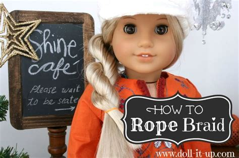 american girl hairstyles step by step pin by janine branca on american girl doll crafts pinterest