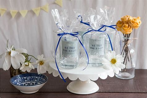 Wedding Favors Glasses by Favor Friday Glass Favors Evermine Weddings