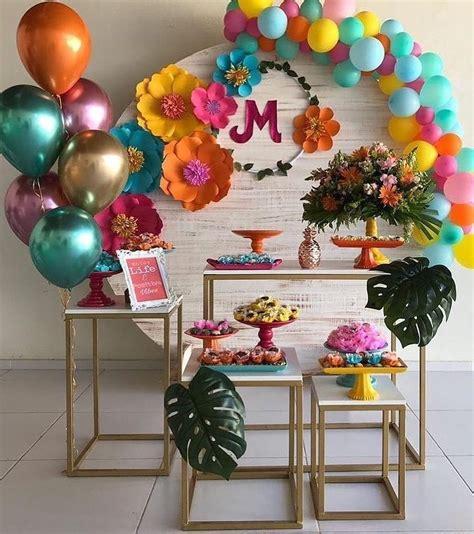 decoracion de fiestas  verano  las tendencias del