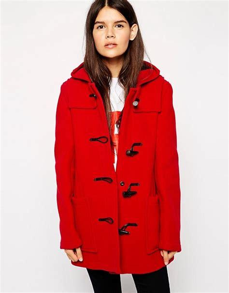 swing duffle coat gloverall gloverall swing duffle coat