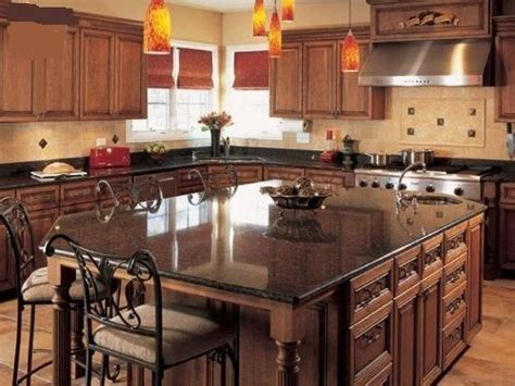 large kitchen island with seating kitchen