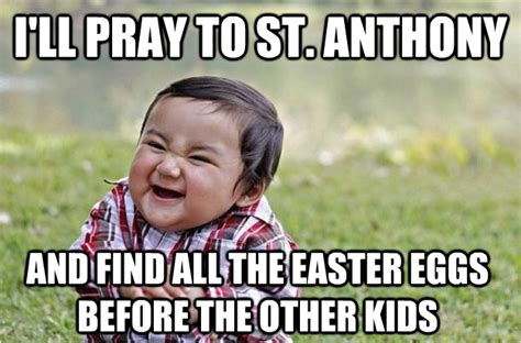 Easter Egg Meme - easter egg hunt catholic memes