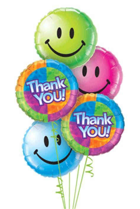 Thank You Letter Balloons thank you balloon bouquet 5 balloons