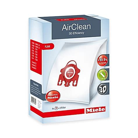 bed bath and beyond miele miele airclean fjm dustbag bed bath beyond