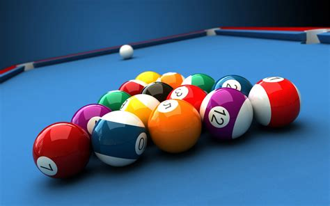 Pool Table Balls 3d Model Available In Max Ma