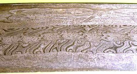 pattern welding steel damascene technique in metal working