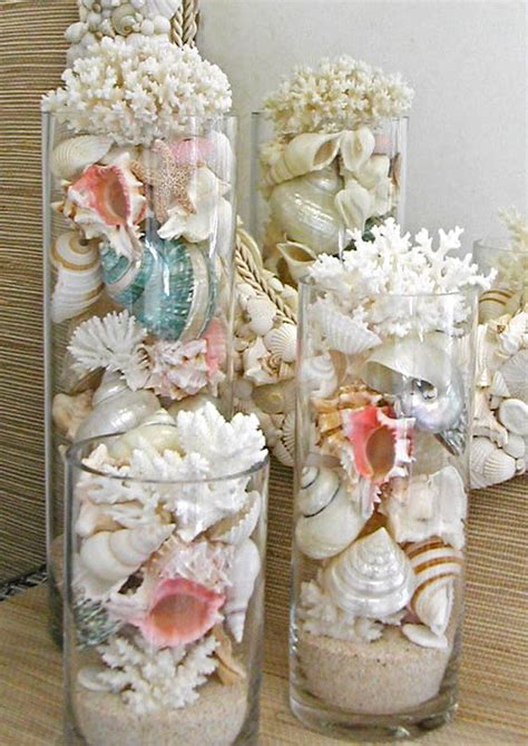 decorating with seashells in a bathroom 15 diy beach decor ideas diy ready