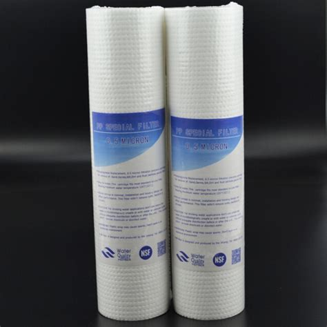 Filter Big Pp Sediment 20inch Filter Air Cartridge Big Berkualitas 2pcs 10 inch pp cotton acupuncture 0 5 micron sediment filter water purifier common front filter