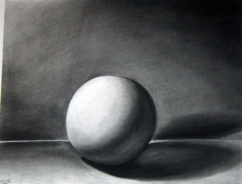Drawing Value by Value Sphere By Feuilledepapier On Deviantart