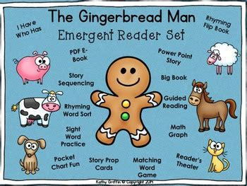 gingerbread man  kathy griffin teachers pay teachers