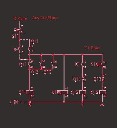 cara kerja wiring diagram delta delta circuit