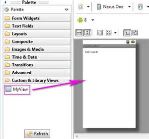 android layout xml parameters android creazione di una custom view parte 2