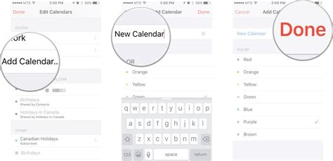 How To Add Calendar To Iphone How To Add And Delete Calendars On Your Iphone And