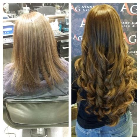 Best Type Of Hair For Extensions by Permanent Hair Extensions Types Best Human Hair Extensions