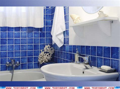 Blue Tile Bathroom Ideas Cobalt Blue Bathroom Tiles Decobizz