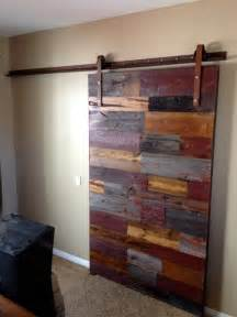 Reclaimed Sliding Barn Doors Sliding Barn Door Mixed Reclaimed Woods Contemporary Doors By Porter