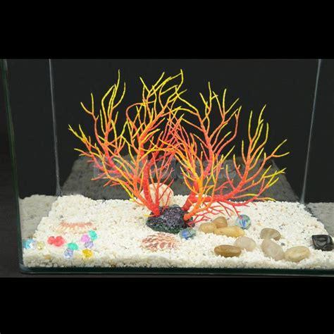 fish aquarium decorations aquarium fish tank artificial coral ornament aquatic plant