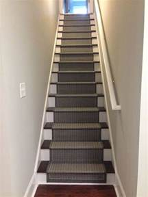 basement stairs finished refresh restyle