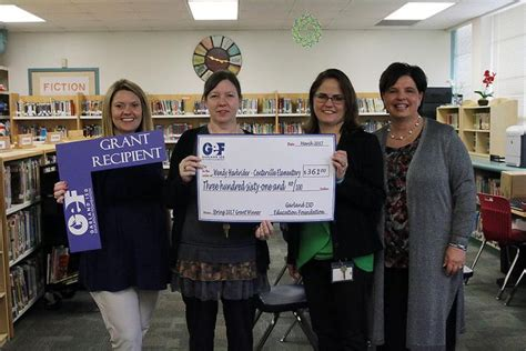 Garland Isd Tax Office by Garland Isd Education Foundation Awards Thousands To