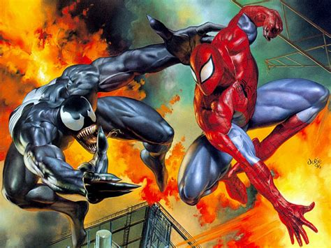 And Their Comics vs venom their fights in comics geeks