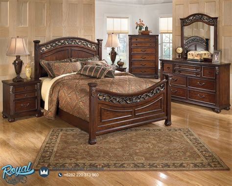 Kayu Jati Jepara Karpet Modern kamar tidur set jati minimalis modern mebel jepara mewah terbaru gotti royal furniture