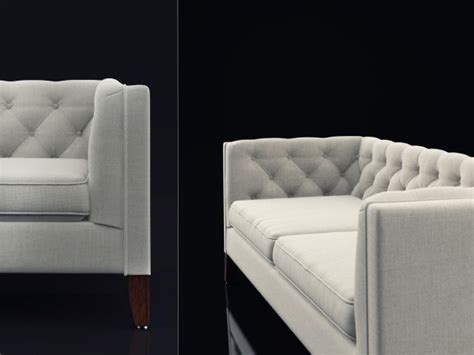 fog kendall sofa fog kendall sofa 3d model