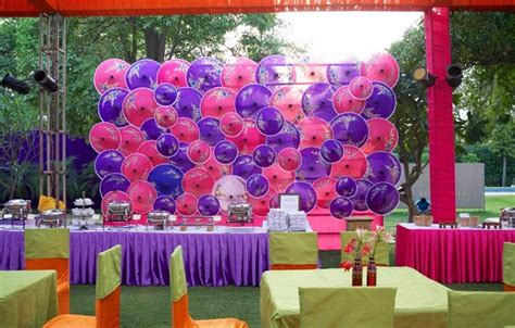 Summer Spring Outdoor Wedding Umbrella Decoration