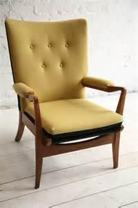 1950s armchair by knoll and chrome