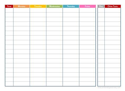 free editable printable weekly planner daily calendars free printable editable new calendar