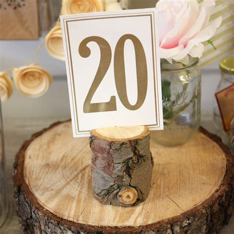 wooden number holders wooden numbers design decoration