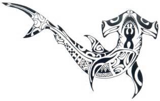tattoos spot tribal hammerhead shark tattoo designs